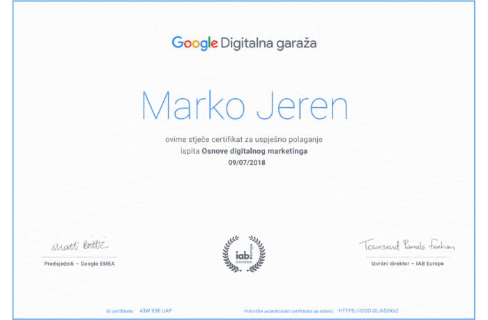 Digitalna Garaza – certifikat-1
