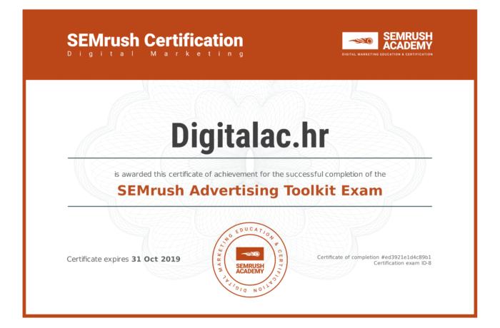 SEMrush Academy Certificate-1