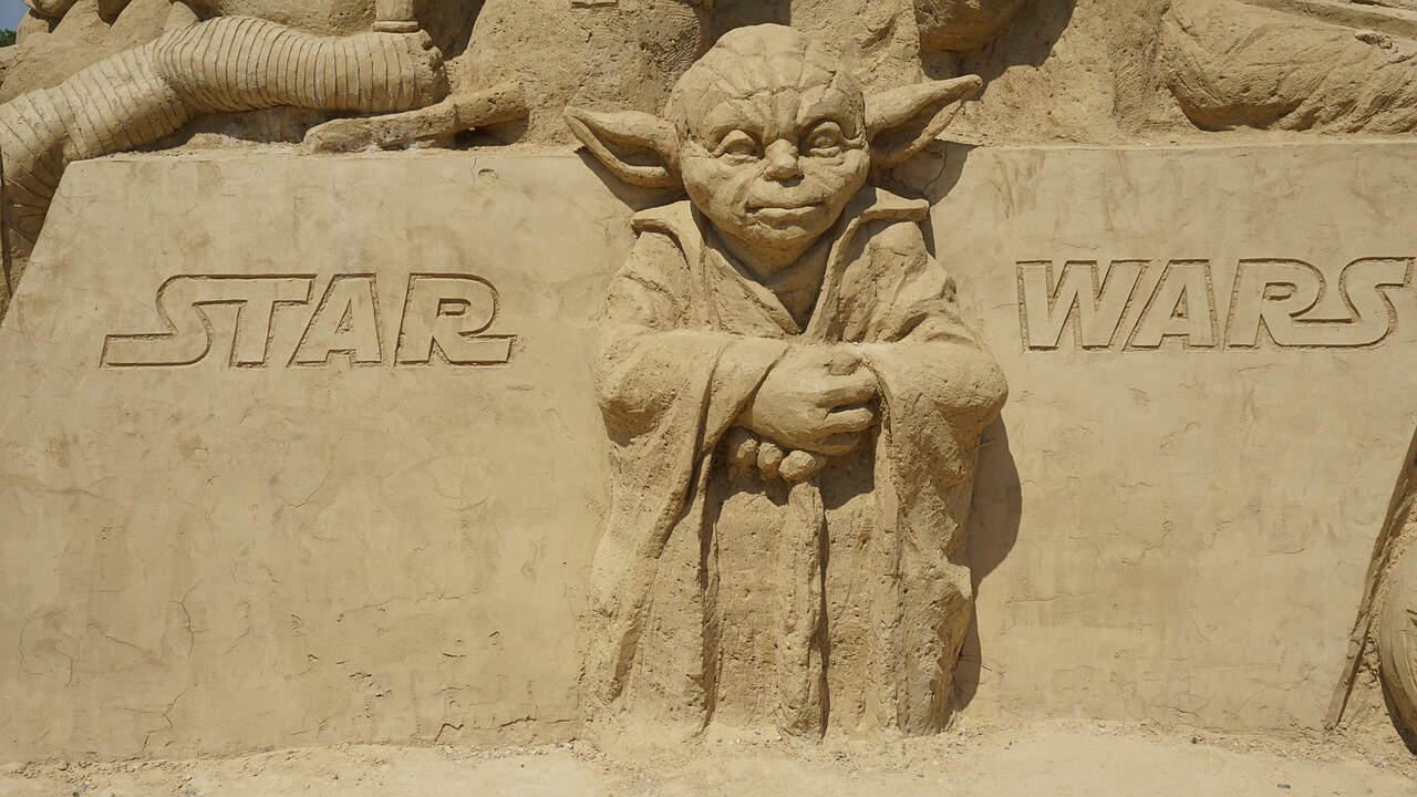 Google search konzola u 'Star Wars' modu