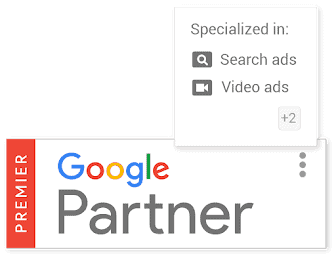bedž Google partnera